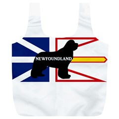 Newfoundland Name Silo On Flag Reusable Bag (XL)