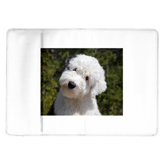 Old English Sheep Dog Pup Samsung Galaxy Tab 10.1  P7500 Flip Case