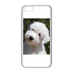 Old English Sheep Dog Pup Apple iPhone 5C Seamless Case (White)