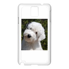 Old English Sheep Dog Pup Samsung Galaxy Note 3 N9005 Case (White)