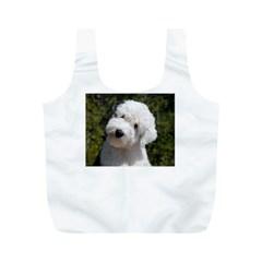 Old English Sheep Dog Pup Reusable Bag (M)