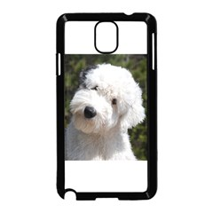 Old English Sheep Dog Pup Samsung Galaxy Note 3 Neo Hardshell Case (Black)