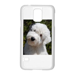Old English Sheep Dog Pup Samsung Galaxy S5 Case (white)