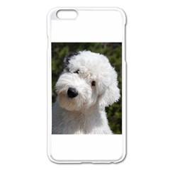 Old English Sheep Dog Pup Apple iPhone 6 Plus Enamel White Case