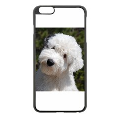 Old English Sheep Dog Pup Apple iPhone 6 Plus Black Enamel Case