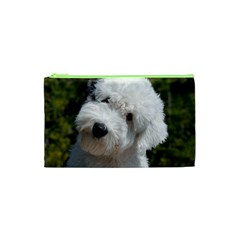 Old English Sheep Dog Pup Cosmetic Bag (XS)