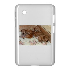 Apricot Poodle Pups Samsung Galaxy Tab 2 (7 ) P3100 Hardshell Case