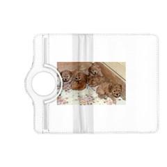 Apricot Poodle Pups Kindle Fire HD (2013) Flip 360 Case