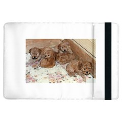 Apricot Poodle Pups Apple iPad Air Flip Case