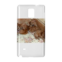 Apricot Poodle Pups Samsung Galaxy Note 4 Hardshell Case