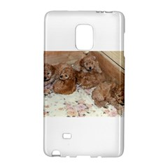 Apricot Poodle Pups Samsung Galaxy Note Edge Hardshell Case