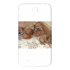 Apricot Poodle Pups Samsung Galaxy Mega I9200 Hardshell Back Case