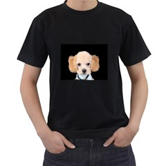 Apricot Poodle Men s Two Sided T-shirt (Black)
