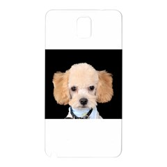 Apricot Poodle Samsung Galaxy Note 3 N9005 Hardshell Back Case
