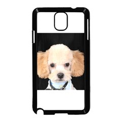 Apricot Poodle Samsung Galaxy Note 3 Neo Hardshell Case (Black)