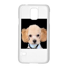 Apricot Poodle Samsung Galaxy S5 Case (White)