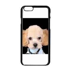 Apricot Poodle Apple iPhone 6 Black Enamel Case