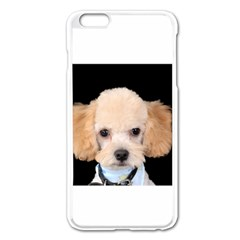 Apricot Poodle Apple iPhone 6 Plus Enamel White Case
