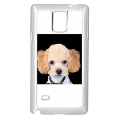 Apricot Poodle Samsung Galaxy Note 4 Case (White)