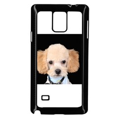 Apricot Poodle Samsung Galaxy Note 4 Case (Black)