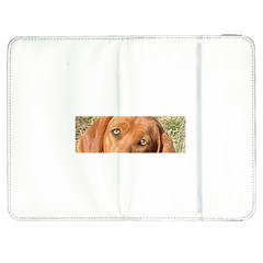 Redbone Coonhound Eyes Samsung Galaxy Tab 7  P1000 Flip Case