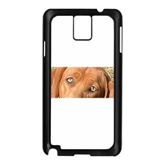 Redbone Coonhound Eyes Samsung Galaxy Note 3 N9005 Case (Black)