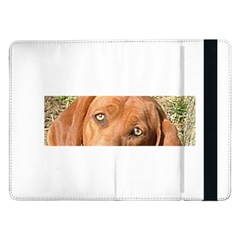 Redbone Coonhound Eyes Samsung Galaxy Tab Pro 12.2  Flip Case