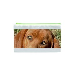 Redbone Coonhound Eyes Cosmetic Bag (XS)