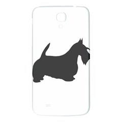 Scottish Terrier Dk Grey Silhouette Samsung Galaxy Mega I9200 Hardshell Back Case