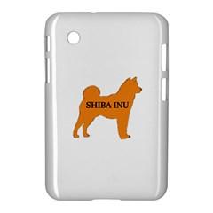 Shiba Inu Name Silo Color Samsung Galaxy Tab 2 (7 ) P3100 Hardshell Case