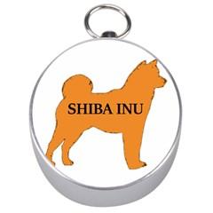 Shiba Inu Name Silo Color Silver Compass