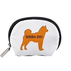 Shiba Inu Name Silo Color Accessory Pouch (Small)