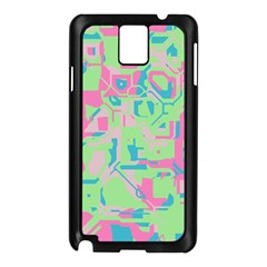 Pastel chaos Samsung Galaxy Note 3 N9005 Case (Black)