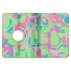 Pastel chaos Kindle Fire HDX Flip 360 Case