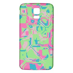 Pastel Chaos Samsung Galaxy S5 Back Case (white)
