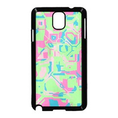 Pastel chaos Samsung Galaxy Note 3 Neo Hardshell Case (Black)