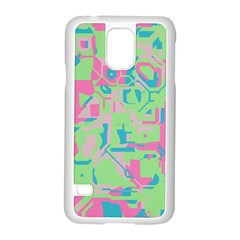 Pastel chaos Samsung Galaxy S5 Case (White)