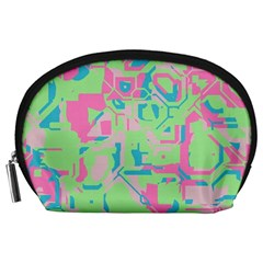 Pastel chaos Accessory Pouch (Large)