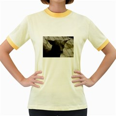 mexican hairless / Xoloitzcuintle Women s Ringer T-shirt (Colored)