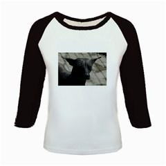 mexican hairless / Xoloitzcuintle Kids Long Cap Sleeve T-Shirt