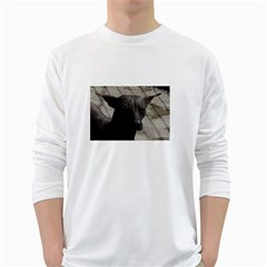 mexican hairless / Xoloitzcuintle Men s Long Sleeve T-shirt (White)