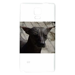 mexican hairless / Xoloitzcuintle Samsung Note 4 Hardshell Back Case