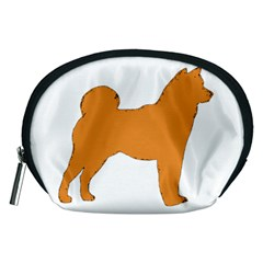 Shiba Inu Silo Color Accessory Pouch (Medium)
