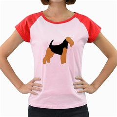 Welsh Terrier Silo Color Women s Cap Sleeve T-Shirt (Colored)