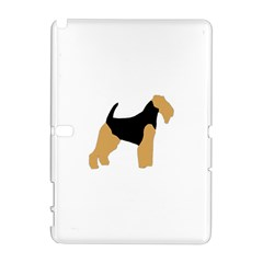 Welsh Terrier Silo Color Samsung Galaxy Note 10.1 (P600) Hardshell Case