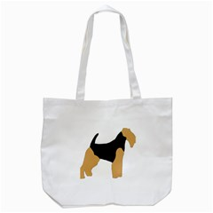 Welsh Terrier Silo Color Tote Bag (White)