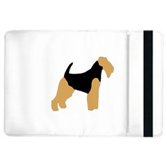 Welsh Terrier Silo Color Apple iPad Air 2 Flip Case