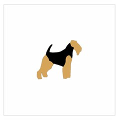Welsh Terrier Silo Color Satin Scarf (Square)