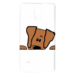 Peeping Vizsla Samsung Note 4 Hardshell Back Case