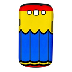 Colorful Curtain Samsung Galaxy S Iii Classic Hardshell Case (pc+silicone)